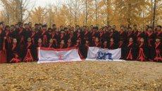 170名师生在汉阳陵博物馆穿汉服、学汉礼感受传统汉文化