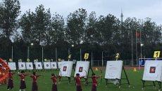 汉服长弓,全国大学生射箭赛倡导射艺进校园