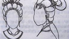 中国古代女子发型