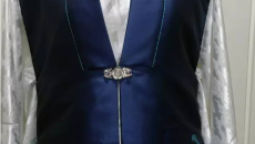 实用又时尚·明制蓝花比甲制作