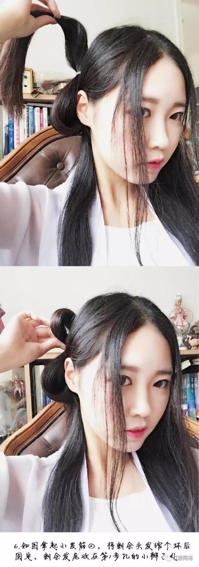 一款温婉淑女的发型教程-图片7