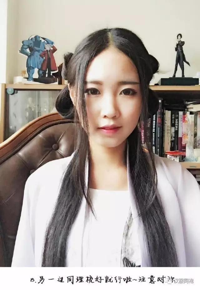 一款温婉淑女的发型教程-图片9