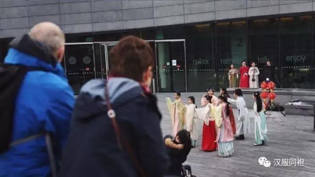 穿汉服,过新年,伦敦汉服乐舞活动报道-图片1