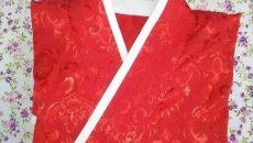 汉服二绕曲裾的折叠流程