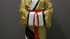 汉服穿衣流程——马王堆曲裾穿着教程