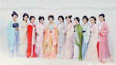 149名建筑女职工拍汉服写真庆妇女节 秒变女神