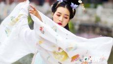 古典美人齐聚南社古村 花朝节展现汉服魅力