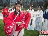 南京大报恩寺:汉服美女重现三千年上巳女儿节祭礼