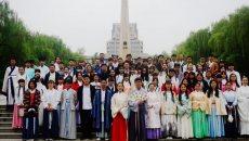 广袖倾嫣,儒衣婵娟——西安交通大学国学社举办第二届汉服节