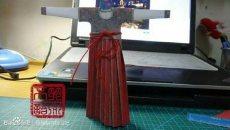 坦领襦裙之折纸版教程
