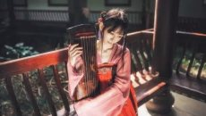 汉服配美人,穿出中国女人的华采之美!