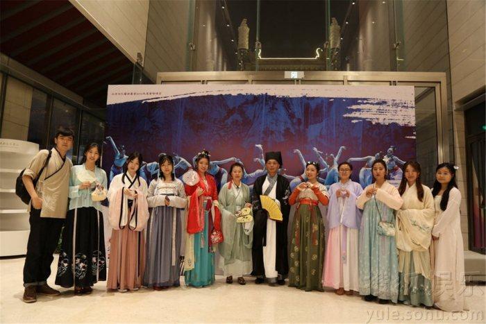 《国风》天桥艺术中心上演 汉服美女们齐亮相-图片2