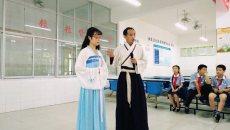 """包粽子,听历史 """"传承端午民俗 弘扬传统文化""""活动在什邡市实验小学举行"""