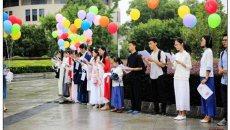 """在大学,读《大学》——书香湖北·文化中国第一场""""着汉服·放飞经典""""在汉举行"""