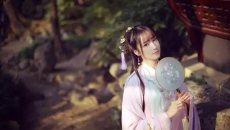 【汉服美图】SNH48-蒋芸,明星也爱穿汉服