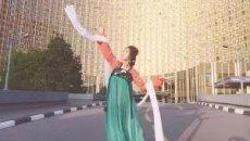 不一样的毕业旅行! 90后女孩带着汉服去俄罗斯