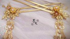 汉服配饰——发簪挽,珠钗存