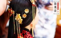 汉服婚礼——花开富贵,华美衣冠