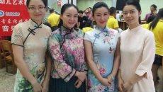 武汉高校美女教师学姐穿旗袍汉服迎新 新生乐开了花