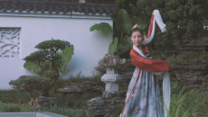 汉服舞蹈【恬儿】佳人曲 舞蹈教程 超简单十分钟学会的舞蹈