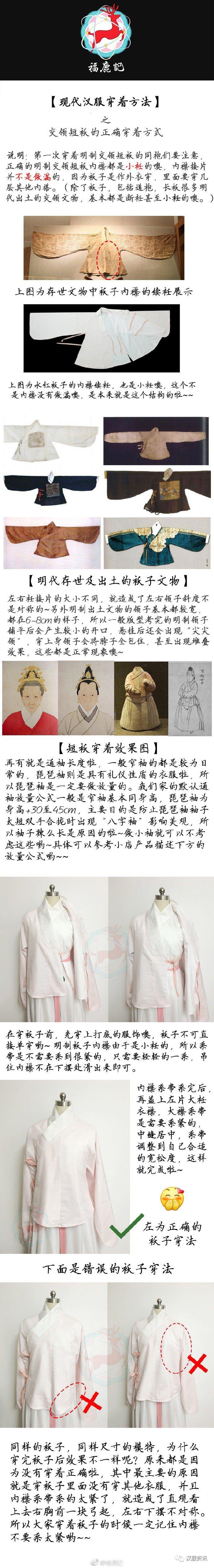 现代汉服穿着方法-图片1