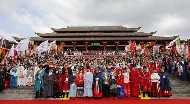 第五届中华礼乐大会开幕 千人同祭华夏英贤