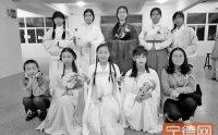 宁德师院举办传统文化庙会活动 汉服走秀让人目不转睛