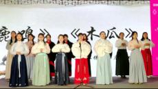 盛世华裳 兰州汉服爱好者传承传统文化