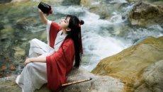 汉服配美人,穿出中国女人的惊世骇俗(上)