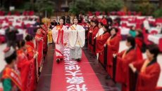 中国形象大使全球选拔赛上汉服文化惊艳全场——展汉服华章 传文化经典