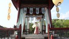汉服舞蹈【雨碎江南·印象】 汉服大袖伞舞