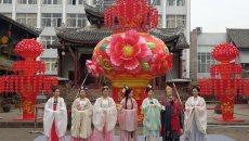 洛带古镇举办第二届女儿节 传承客家、汉服文化提升地域文化自信