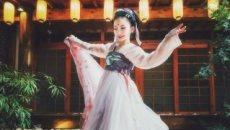汉服舞蹈 【仙风舞馆】《半壶纱》即兴舞蹈樱花超美