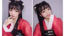 【汉服发型】花海神妹子的精致优雅的发型,你值得拥有!