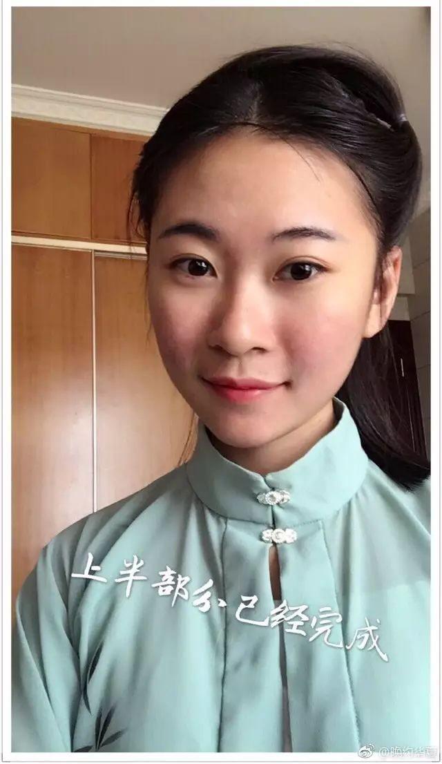 【汉服发型】清新简约齐肩短发教程图片
