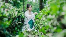 【汉服美图】山中何事,松花酿酒,春水煎茶