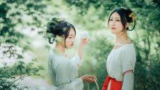 【汉服美图】流年易逝,姐妹情深