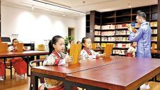 扎发髻着汉服   民治街道启动诵·文·礼传统文化体验活动