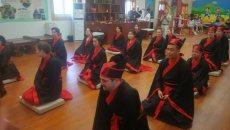 """加拿大大学生在汉阳陵着汉服学汉礼 举行""""无界汉文化""""主题活动"""