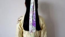 简单汉服发带的系法,超日常
