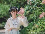 【汉服摄影】届笑春桃兮,云堆翠髻