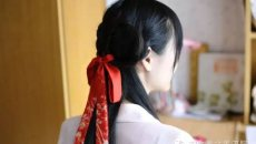 【发型】简易汉服发型教程贴 懒起弄妆迟