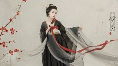 【汉服摄影】青纱未引锦绣缘,琴瑟闲来付流年。