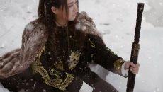 【汉服摄影】孑然一身踏遍千山暮雪