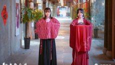 【城事·图片故事】穿着汉服过春节 传统文化得到更多认可