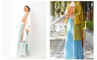 宋制女装图鉴1.0 形制与层次,古典和时尚。