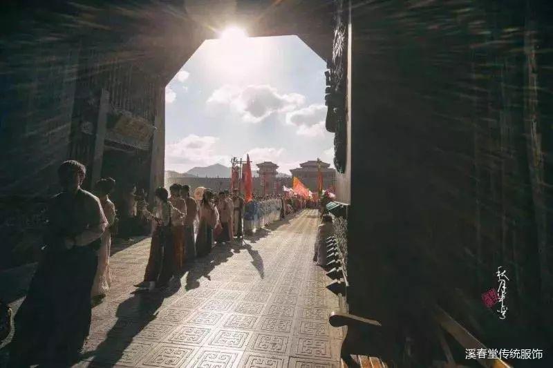 中国汉服汉文化网:汉舞大赛来咯!赭颜邀你黄鹤楼下起舞