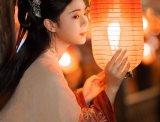 【汉服CP】灯月交映衬笑靥,千万遍祈愿相逢交错在一瞬间