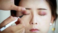 【汉服发型】手把手教你行文君的妆面教程,小白都可以学会的!