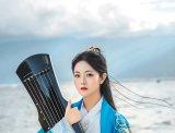【大理古风摄影】在大理,蓝色汉服拍出来能有多美?